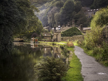 The Rochdale Canal At Hebden B...