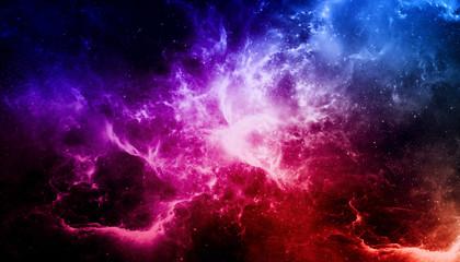 Nebula and galaxy./ Univers...