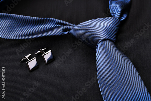 tie and cufflinks Wallpaper Mural