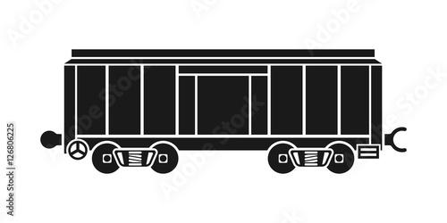 Fotografie, Obraz  Boxcar, railway wagon