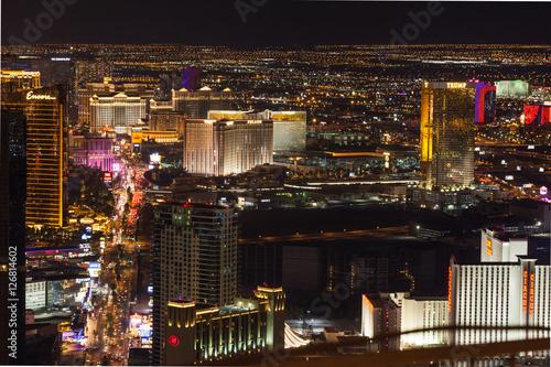 Foto op Canvas Las Vegas Las Vegas Strip at Night