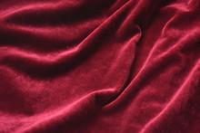 Beautiful Burgundy Velvet, Material, Texture, Background