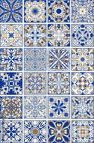 mega-zestaw-tradycyjnych-hiszpanskich-lub-portugalskich-plytek-ceramicznych-i-ceramicznych-ozdobnych