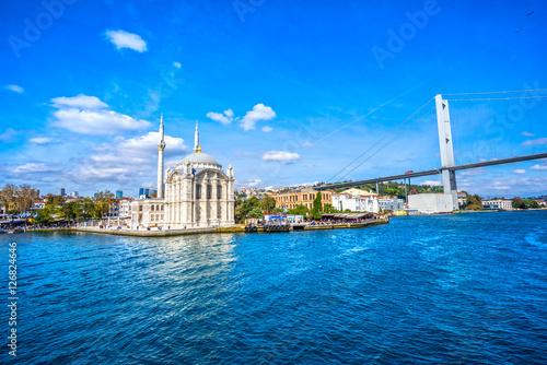 Poster Turquie Ortakoy mosque, Istanbul, Turkey