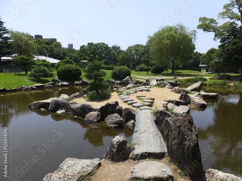 Cuadros en Lienzo 明石公園 宮本武蔵の庭園 Japanese garden of Musashi Miyamoto
