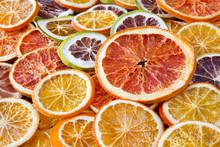 Getrocknete  Zitrusfrüchte