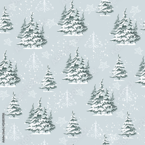 Stoffe zum Nähen Vintage Weihnachten Musterdesign für Geschenk wickeln und Stoff-design