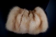 Fur Clutch. Fashion. Warm Soft Accessory.