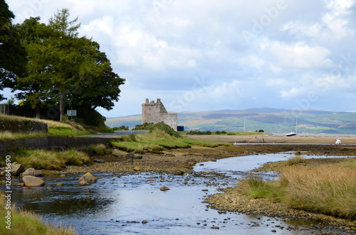 Lochranza castle, Isle of Arran Canvas Print