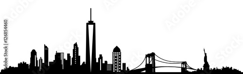 Fototapeta Skyline New York