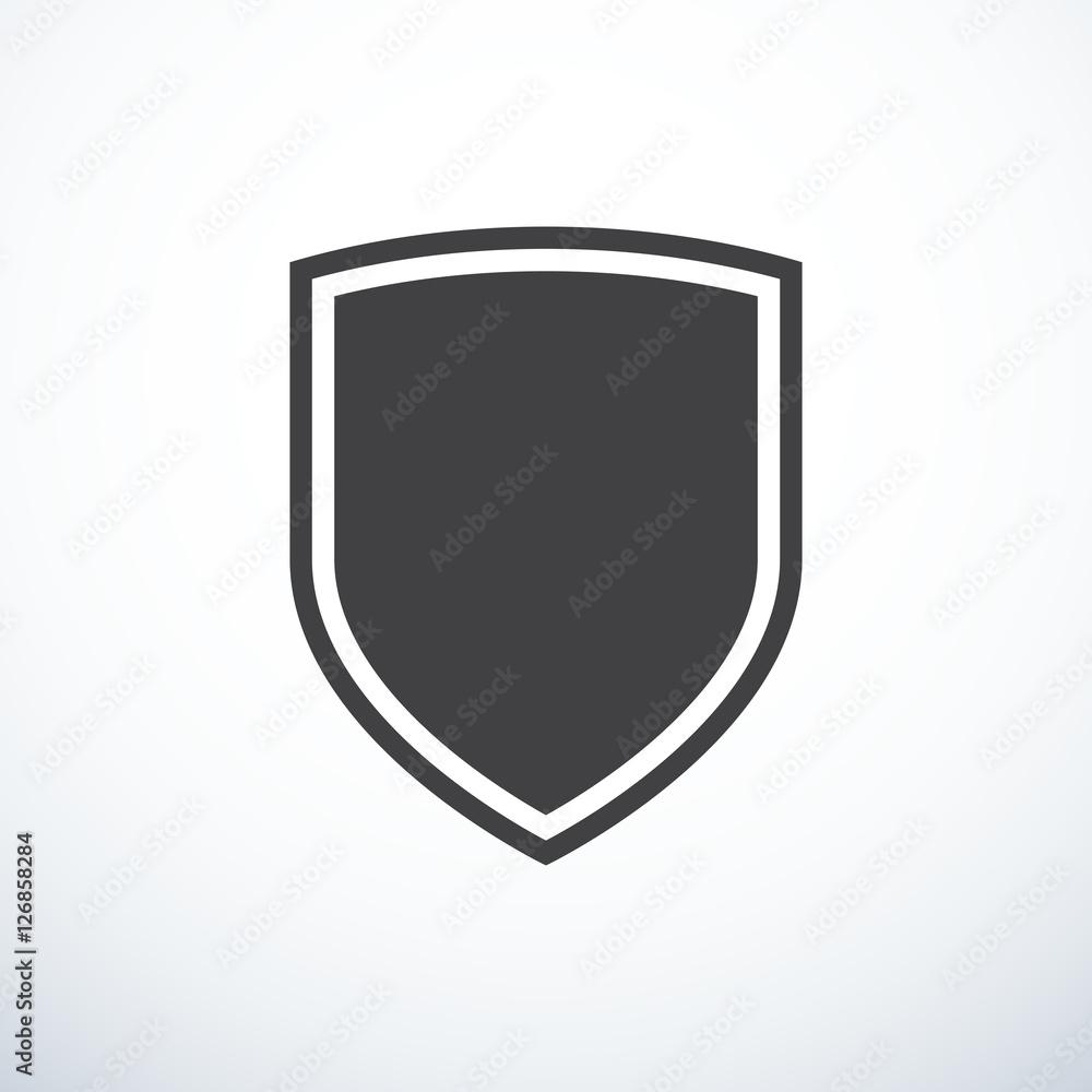 Fototapeta Vector shield icon