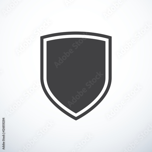 Fototapeta Vector shield icon