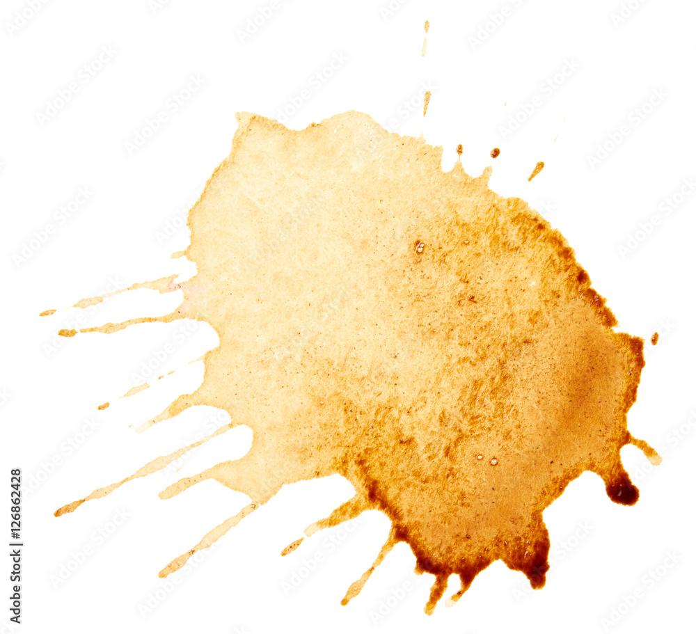 Fototapeta Coffee stain