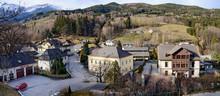 View Of The Alpine Village Prein On The Rax (german: Prein An Der Rax). Lower Austria