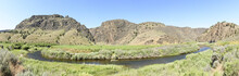Three Forks And The Owyhee River, South Eastern Oregon, Malheur County