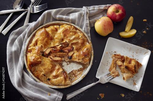 Photo  Rustic Apple Pie