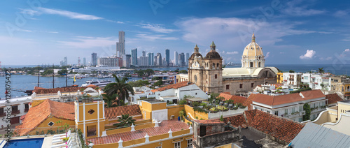 Recess Fitting South America Country View of Cartagena de Indias, Colombia