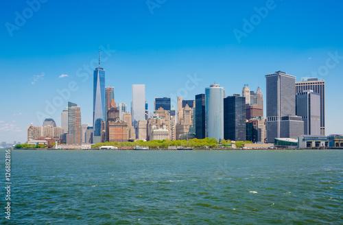 Photo  New York City, USA, Manhattan skyline, View from Staten Island F