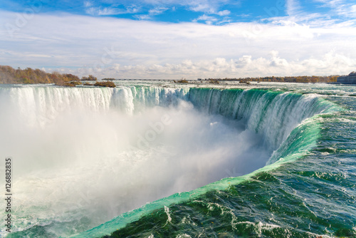Photo sur Toile Canada Horseshoe Fall, Niagara Falls, Ontario, Canada