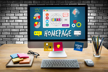Homepage Global Communication Address Browser Homepage Computer
