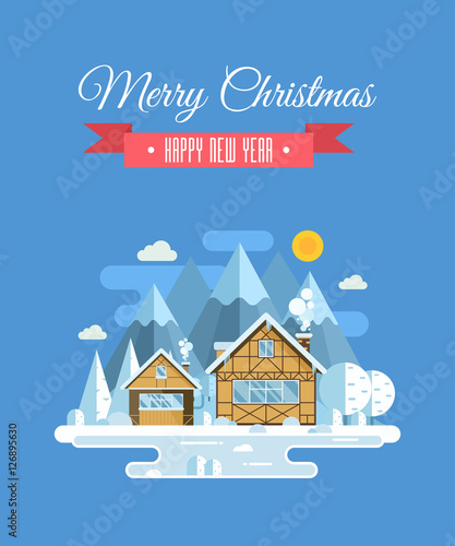 Vector christmas wishing card with traditional celebrating text vector christmas wishing card with traditional celebrating text merry christmas and happy new year greetings m4hsunfo