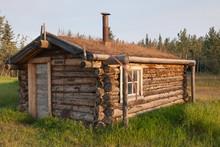 Small Cabin At Fort Selkirk Hi...
