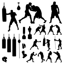 Boxer Boxing Fighter And Equip...