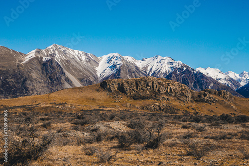 Fotografie, Tablou  Lord of the rings,Mount Sunday at The Rangitata River Hakatere C