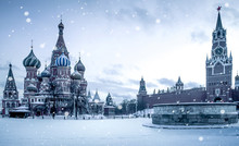 Christmas Time In Moscow - Sno...