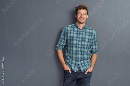 Fotografía  Pride man smiling