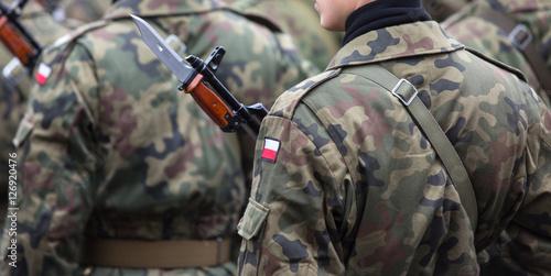 Fotografía  Army parade , Polish soldiers, Polish Army Day, November 11 Polish Independence
