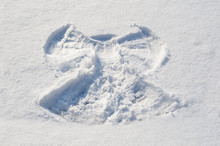 Mark Of An Angel In The Snow