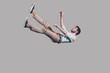 Leinwanddruck Bild - Man falling down.