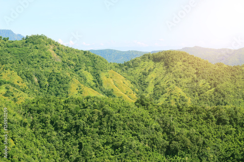 Mountain landscape in the summer #126950259