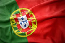 Waving Colorful Flag Of Portug...