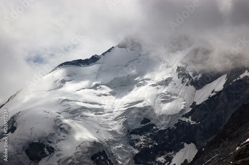 Fotografie, Obraz  Glacier of Bernina Alps - Engadine Switzerland