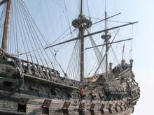 Galleon, 15th Century Ship, Faithful Reconstruction