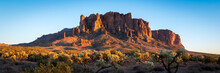 Superstition Mountains In Ariz...