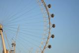 Fototapeta Londyn - The London Eye.
