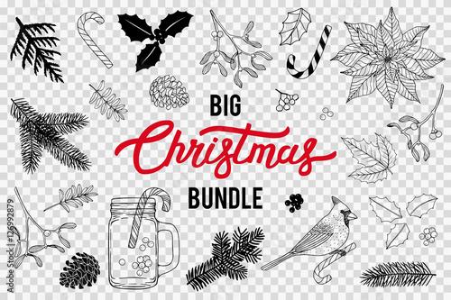 Fotografie, Obraz  Christmas Bundle