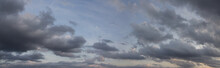 Blue Sky With Clouds Panorama