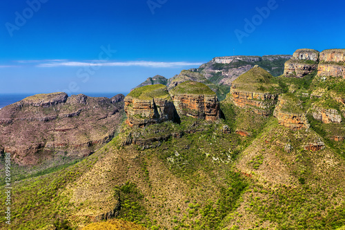 Foto op Canvas Zuid Afrika Republic of South Africa - Mpumalanga province. Blyde River Canyon - the Three Rondavels (three dolomite peaks)