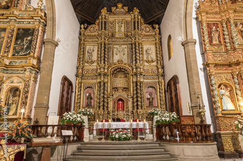Obraz na plátně  Église de Nuestra Senora de la Pena de Francia à Puerto de la Cruz (Tenerife, Es