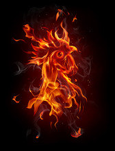 Fire Rooster, Symbol Of 2017 O...