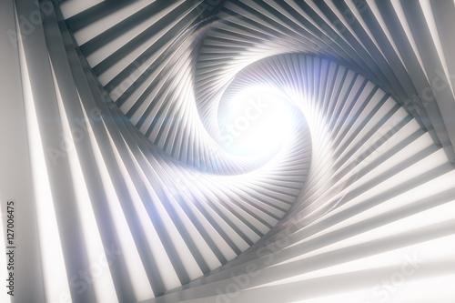 Plakat Twórczy tunel