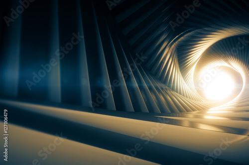 Plakat Szary tunel