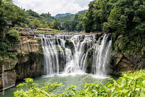 Aluminium Prints Brazil Shifen Waterfall
