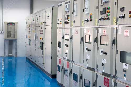 Photo  Electrical control cabinet