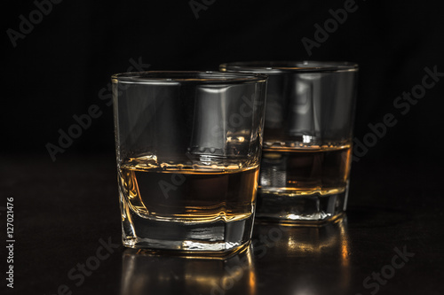 Foto op Canvas Alcohol 並んだグラス