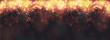 Neujahr / Silvester Hintergrund oder Banner mit Feuerwerk auf einem schwarzen Hintergrund